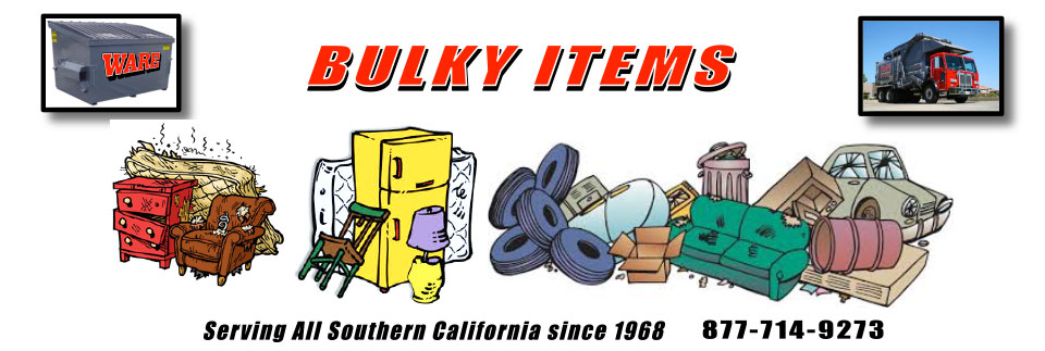 Bulky Items Ware Disposal